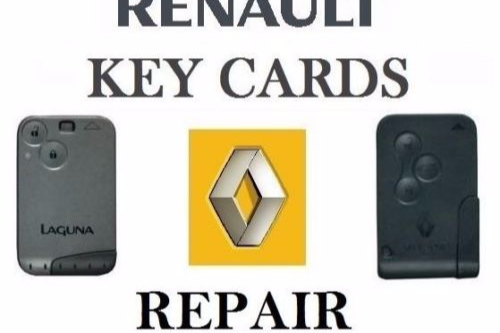 Renault Car Key / KeyCard Repair